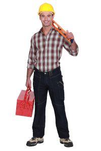 Bauarbeiter zeichnung  BU-Versicherung für Bauarbeiter: hohes Risiko, hohe Preise?