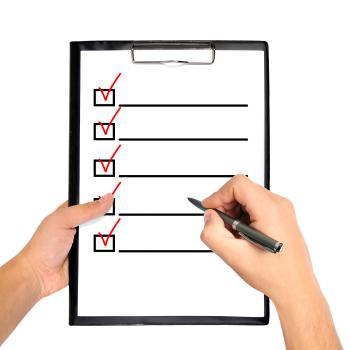 BU Checkliste für Azubis